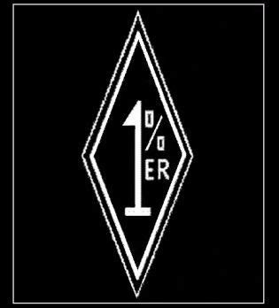 1 percent tattoo 1 motorcycle club patch clu 001