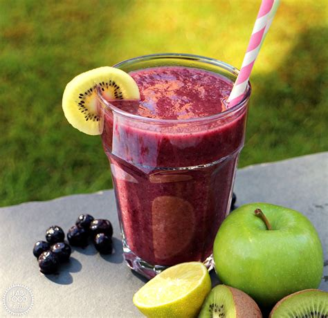 4 fruits a day 5 a day fruit smoothie