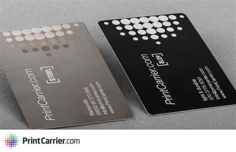 Visitenkarten Aus Metall by Kreativit 228 T Meets Business Ausdrucksstarke Visitenkarten