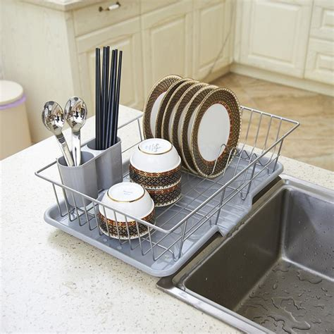 Discount Kitchen Knives Drain Rack Dish Rack Special Stainless Steel Large Kitchen