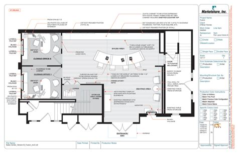 Sle Office Layouts Floor Plan | sales office layout marketline