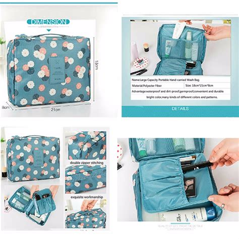 Portable Pouch Organizer Ukuran Sedang travel bag set portable multifunction bags large capacity makeup folding pouch cosmetics