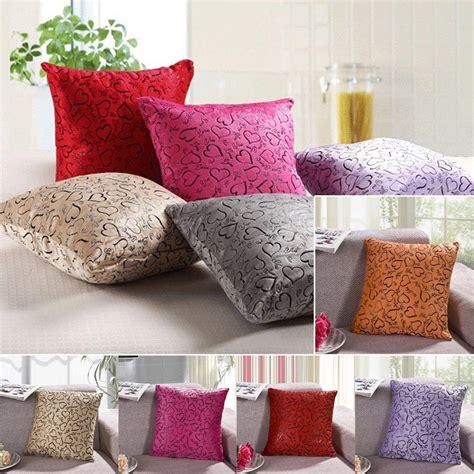 bed throw pillows sofa home bed decorative throw pillow case cushion cover