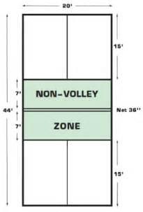 Backyard Volleyball Net Pickle Ball Rules