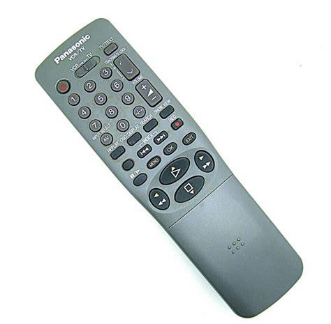 Remote Dvd Panasonic N2qahc000021 Original original panasonic remote eur571739 vcr tv
