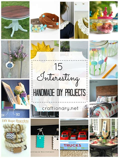 Handmade Project Ideas - craftionary