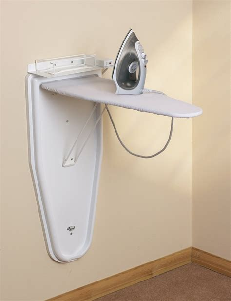 wall mounted ironing board compact wall mounted ironing centre with steam iron