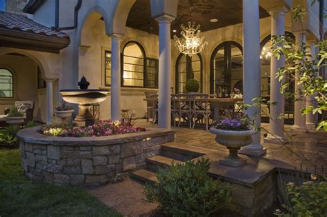 Tuscan Inspired Backyards by Pin By April Johnson On Decks Patios Porches