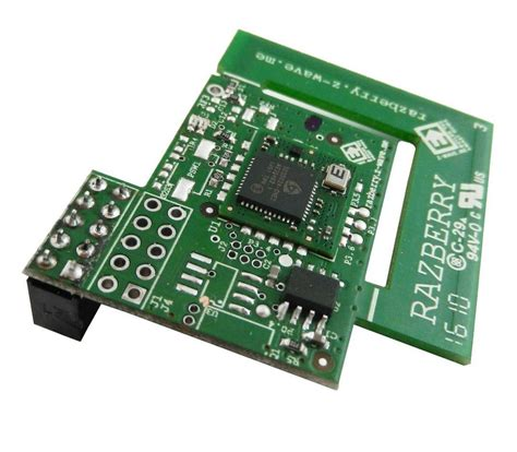 razberry z wave board for the raspberry pi