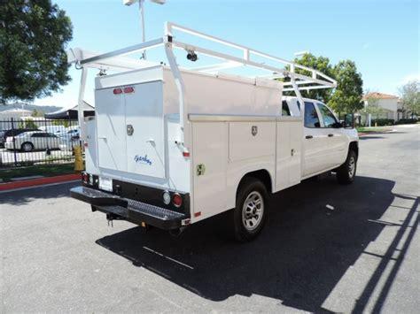 harbor utility bed service or utility body paradise work trucks