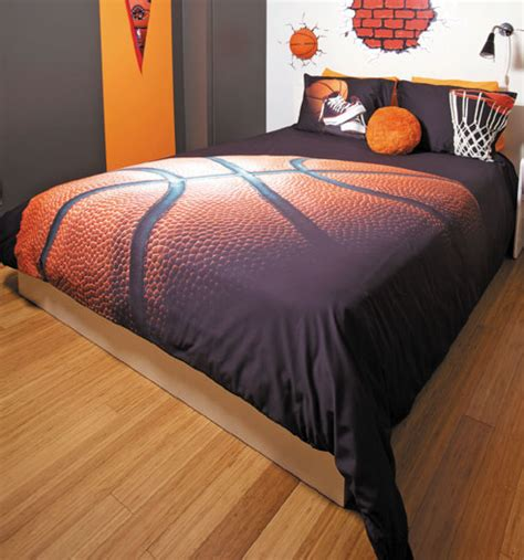 Basketball Comforter basket by zenima beddingsuperstore