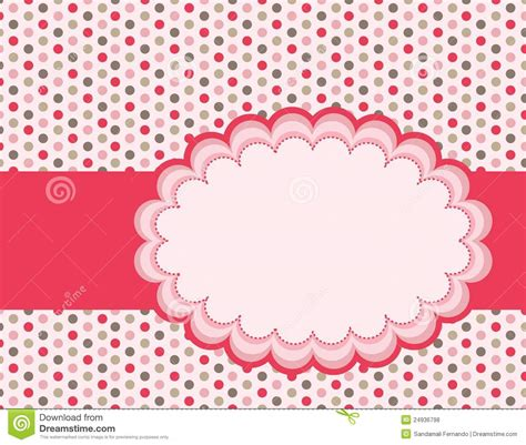 The Girly Spot Audio by Polka Background Stock Vector Illustration Of Dots