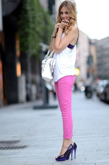 chiara ferragni zara chiara ferragni zara pink trousers chiara ferragni