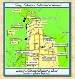 map of ouray colorado ouray colorado a history