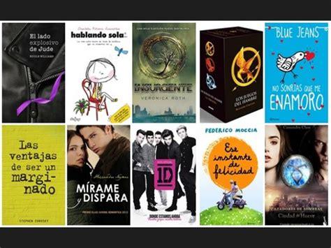 lista libros para adolescentes romanticos