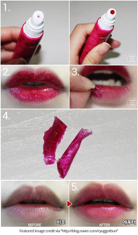 lip tattoo lipstick best 25 lip stain peel ideas on peeling
