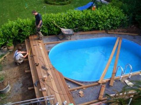 poolumrandung aus holz bauen kartagina info