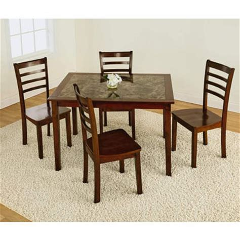 5pc Faux Marble Dining Table Set 5pc Faux Marble Dining Set Style At Kmart