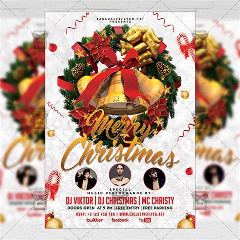 Merry Flyer Template Free