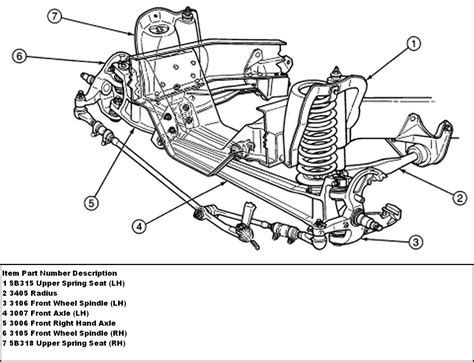 ford f150 front suspension diagram how to replace the rubber bushing on the front controll