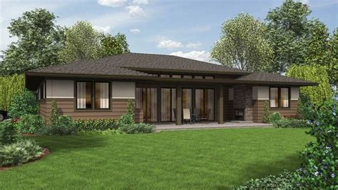the caprica contemporary ranch house plan 10 ranch house plans with a modern feel