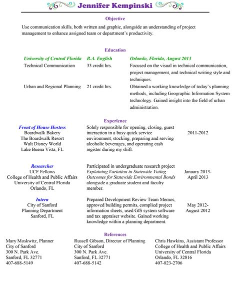 Up To Date Resume Samples by Resume Jennifer S Portfolio