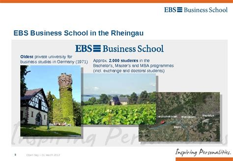 Open Business School Mba by Ebs Time Mba Open Day 01