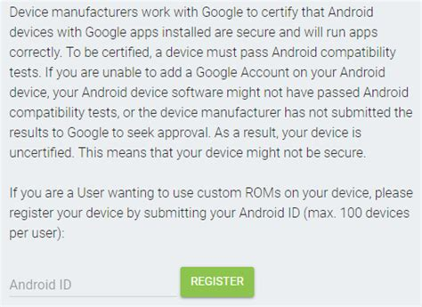 Play Store Uncertified Is Starting To Block Gapps On Uncertified Devices