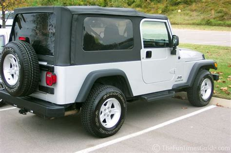 Jeep Soft Top Windows How To Clean Jeep Soft Top Windows Jeepers