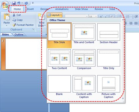 how to use powerpoint 2010 slide layouts authoring techniques for accessible office documents