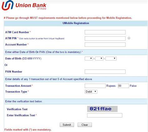 union bank net banking registration union bank of india banking website 2018 2019