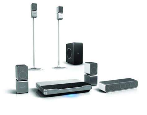 wireless home theater system from philips feel the