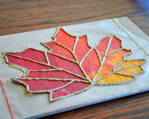 Wax Paper Arts And Crafts - a craft almost anytime of year is stained