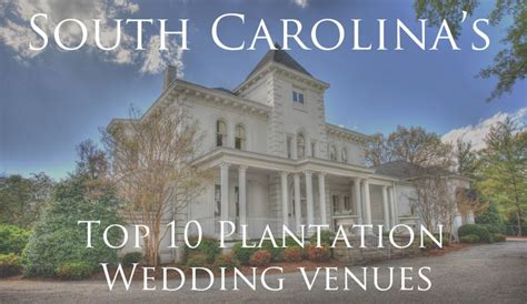 wedding venues south carolina south carolina wedding