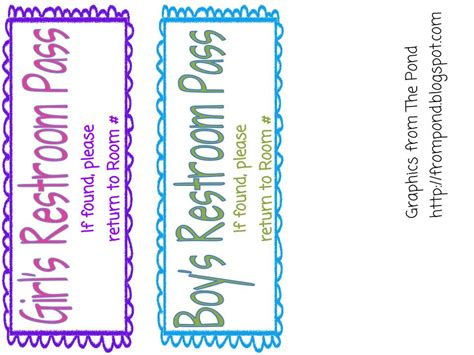 student bathroom passes bathroom pass template 28 images printables pass