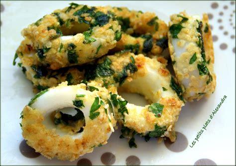 comment cuisiner calamar frais calamars en cro 251 te de persillade les petits plats d