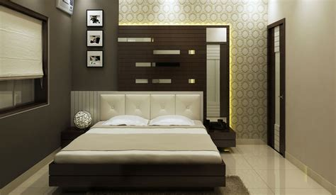 Interior Design For A Bedroom Of A Space Planner In Kolkata Home Interior Designers Decorators