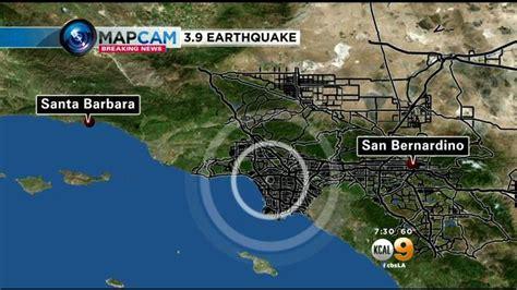 earthquake los angeles los angeles 3 9 earthquake precursor to the big one