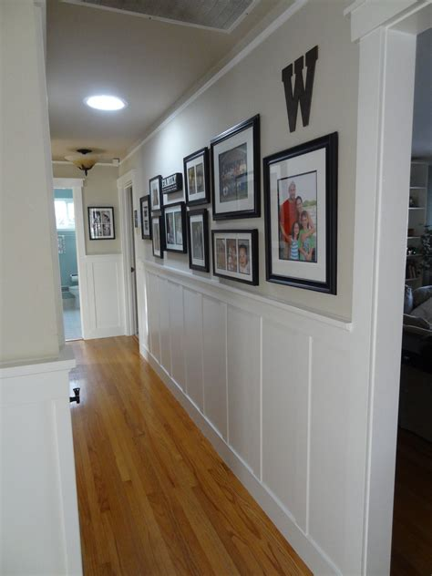 Wainscoting Hallway by Hallway Wainscoting Wainscoting House And Batten