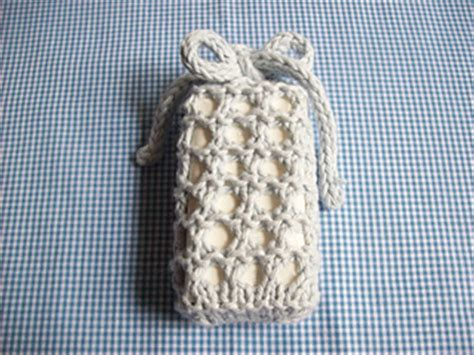 soap sack knitting pattern ravelry no sew knitted soap sack pattern by lois mitchell