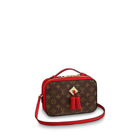 saintonge monogram canvas handbags louis vuitton