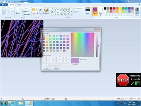 how to invert colors on paint