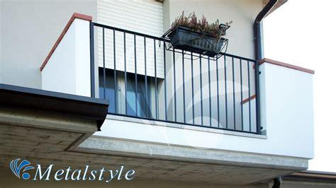 altezza ringhiera balcone balcone parapetti 56 metalstyle