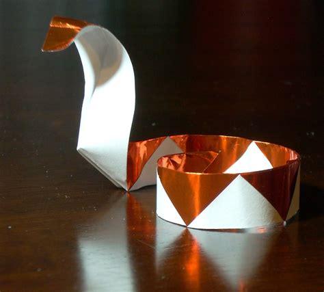 How To Make A Origami Basketball Hoop - snake printable origami