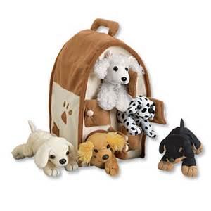 plush dog house plush stuffed animal puppies dog house and puppies orvis