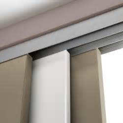 rail coulissant et habillage aluminium slide artens pour 3