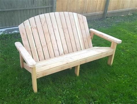 garden bench made from pallets best 25 pallet garden benches ideas on pinterest garden