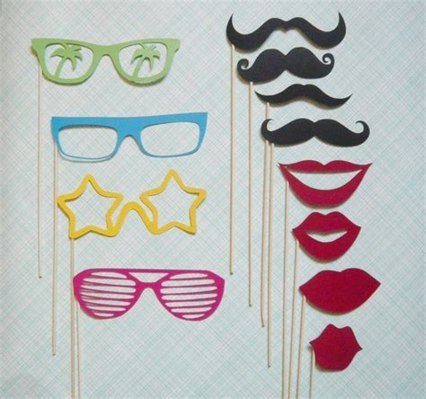 diy photo booth props templates search results