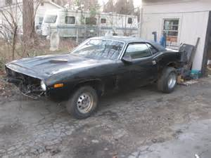 Project For Sale 1973 Plymouth Barracuda Project For Sale