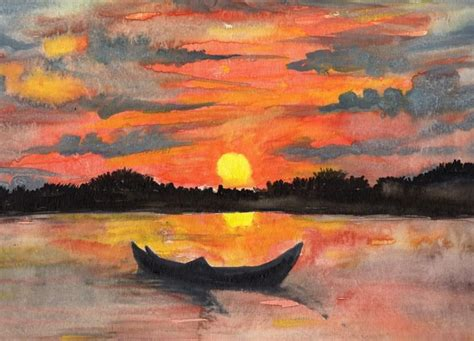 painting of every sunset brings the promise of a new painting